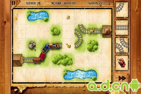 淘金火車 Train of Gold Rush v1.6-Android益智休闲類遊戲下載
