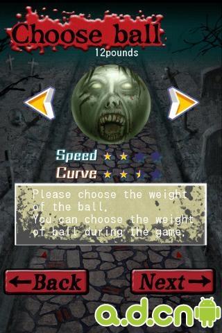 僵尸保龄球 Zombie 3D Bowling