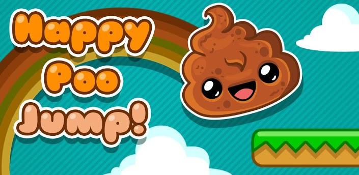 《便便跳跃 Happy Poo Jump》一款以可爱大便形象为主题的跳跃类游戏,游戏的方法有点像是DoodleJump涂鸦跳和MegaJump的结合体,在色彩方面比较卡通,配色也算是不错。游戏目标便是操控便便不停的向上攀爬,在操作方面,也是当然的:重力操控,晃动手机来控制便便的左右移动,首次游戏会需要一点时间去习惯便便的跳跃高度,操控感应灵敏度还不错。在HappyPooJump不停向上的路上,板面是一格一格跳上去的,到了金币区域则可以获得金币向上飞。HappyPooJump便便跳游戏中有苹果道具,可以让便