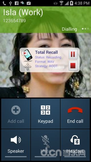 通话录音 Total Recall