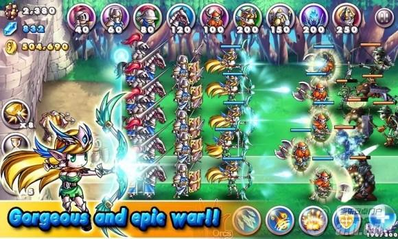 帝國VS獸人內購破解版Empire VS Orcs v1.1.4-Android策略塔防類遊戲下載
