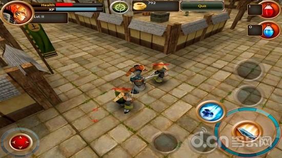 玩角色扮演App|武士剑虎 Samurai Tiger免費|APP試玩