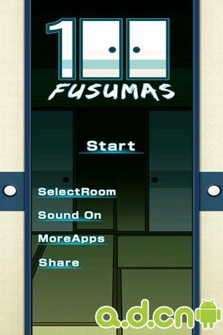 """100间格门 100 Fusumas """"room escape game"""""""